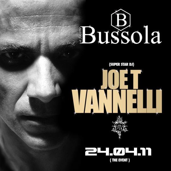 """BUSSOLAVERSILIA PRESENTA:DOMENICA 24 APRILE """"PASQUA"""" GUEST DJ JOE T. VANNELLI.."""