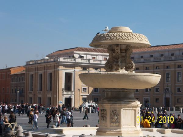Fontana in Piazza del Popolo