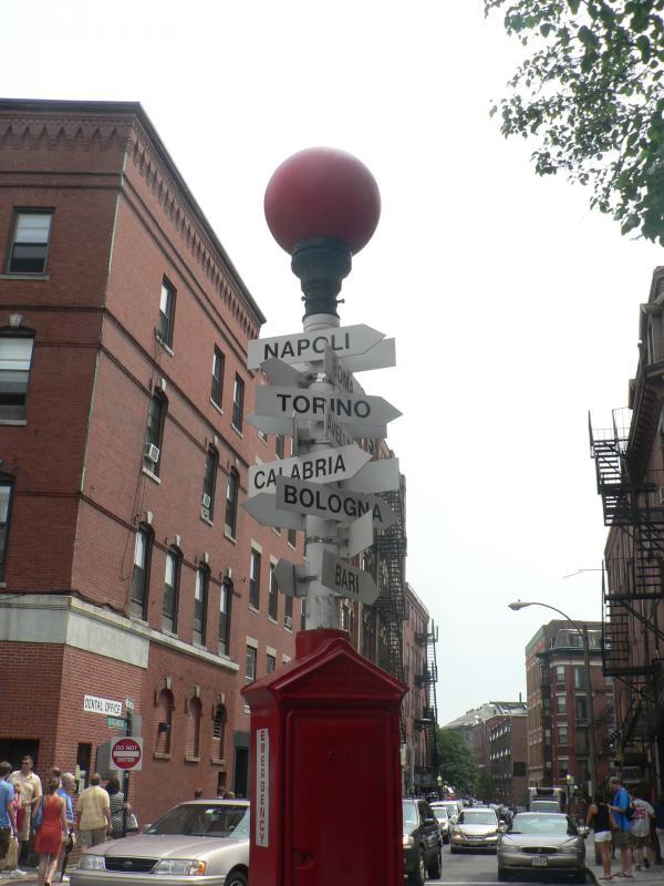 Un po' di Italia in America - Northend Boston