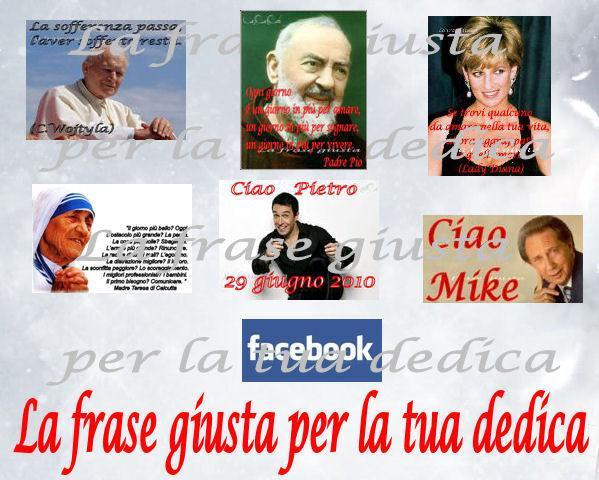 Papa Wojtyla - Madre Teresa di Calcutta - Padre Pio . Mike Bongiorno - Lady Diana - Pietro Taricone