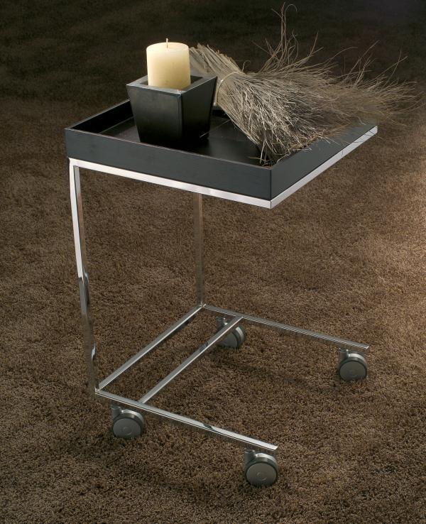 Complementi per divani e poltrone: tavolini con ruote - tavolino in cuoio - p...