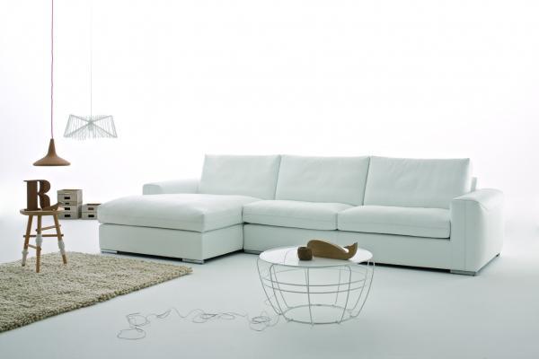 Divani in pelle moderni - divano Charles