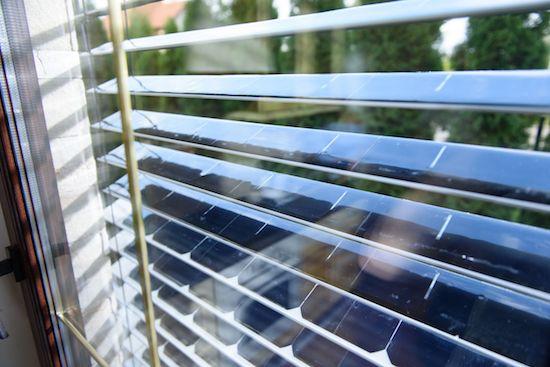 La tapparella veneziana fotovoltaica
