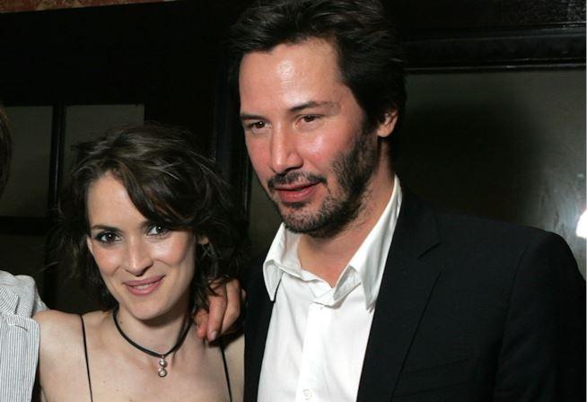 Keanu Reeves e Winona Ryder, matrimonio (vero) sul set 26 anni fa?