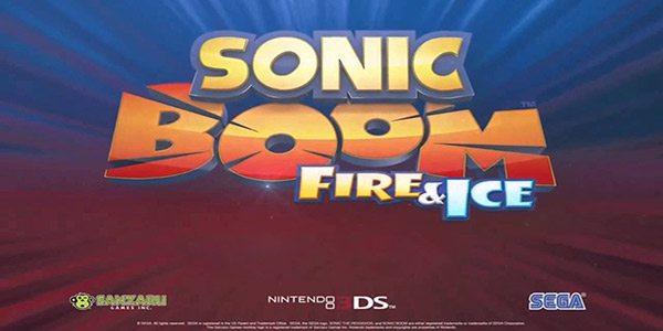 Sonic Boom Fuoco & Ghiaccio, data di uscita Europea e nuovi dettagli di gameplay!
