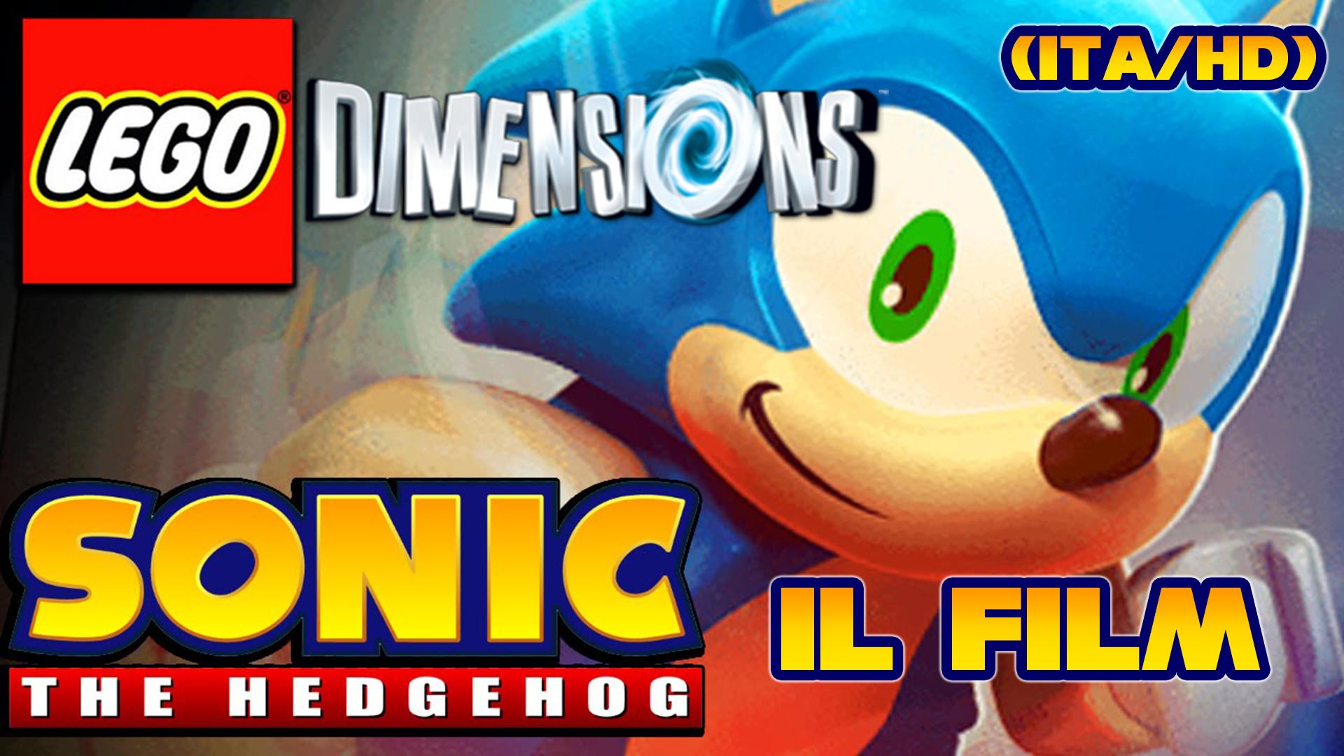 Il nostro film di Sonic in LEGO Dimensions finalmente disponibile!