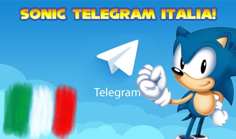 Sonic Telegram Italia apre i battenti!