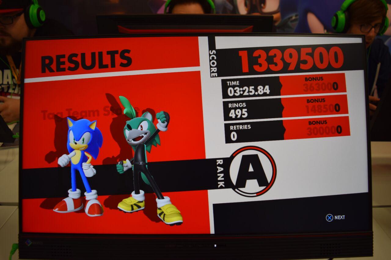 Post di Sonic Team Blog