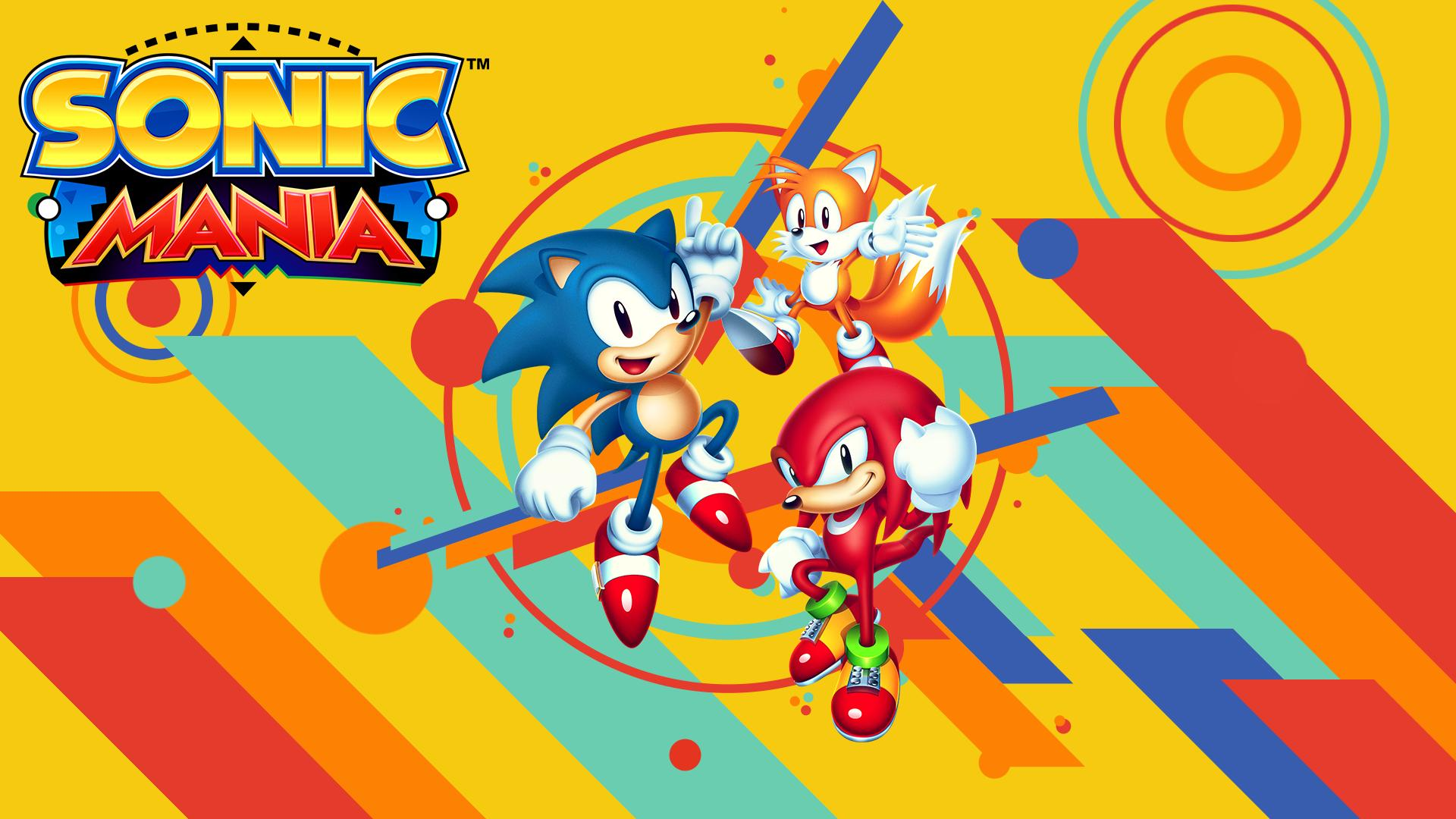 Sonic Mania disponibile al download da oggi!
