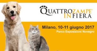 QuattroZampeInFiera - Milano  10 e 11 giugno