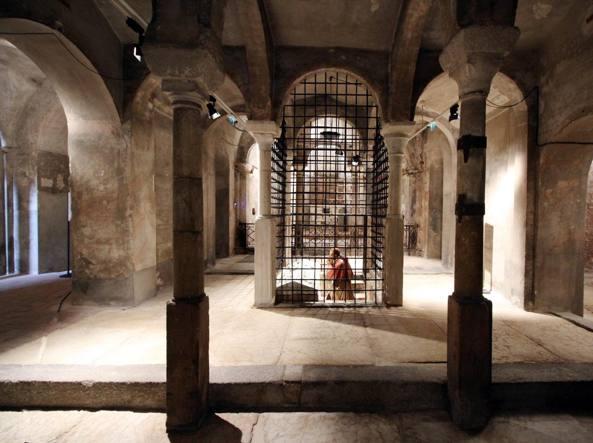 Riapertura della cripta della chiesa del Santo Sepolcro