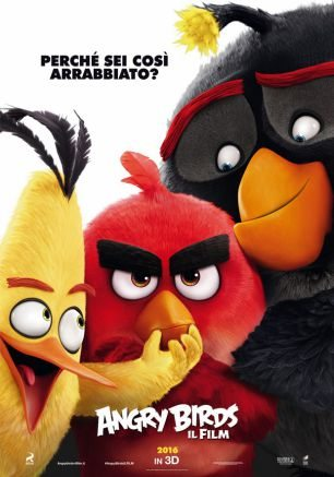 ANGRY BIRDS    -  FILM  IN HOME VIDEO