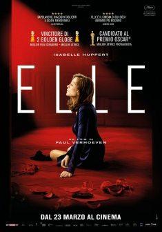 ELLE,  film - SALA BIO MERCOLEDì 22 MARZO - CINEMA COLOSSEO -  milano ORE 21