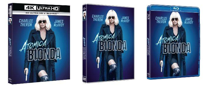 ATOMICA BIONDA -  IN DVD, BLU-RAY™ E 4K ULTRA HD IN DIGITAL HD