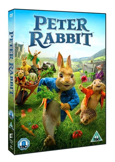 PETER RABBIT - IN DVD