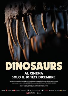 Dinosaurs, 10, 11 e 12 dicembre.