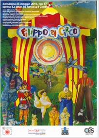 'FILIPPO AL CIRCO' APPRODA AD ARESE Domenica 26 Maggio .-  Mall di Arese