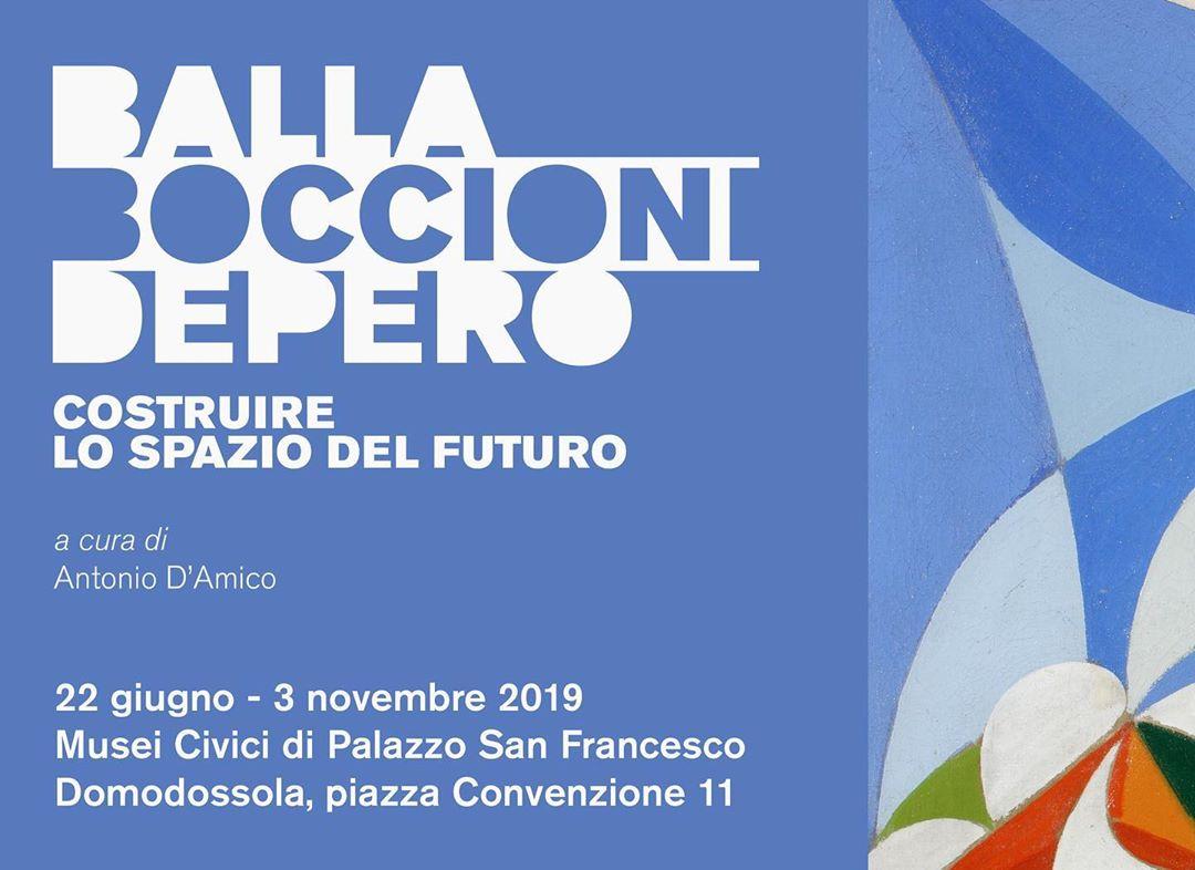 BALLA | BOCCIONI | DEPERO COSTRUIRE LO SPAZIO DEL FUTURO >