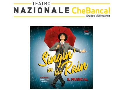 SINGIN' IN THE RAIN CANTANDO SOTTO LA PIOGGIA