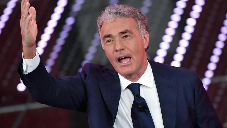 Massimo Giletti e l'amore: «Ho perso 4 kg, la mia donna si chiama tv»