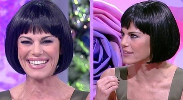 Bianca Guaccero, nuovo look. Sui social: «Hai copiato Ilary Blasi»