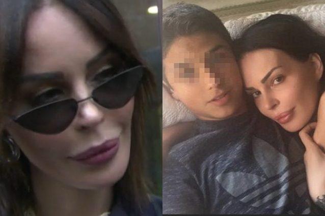 Nina Moric e il figlio: «L'affidamanto di Carlos? Dopo 3 anni non posso definirla una vittoria»