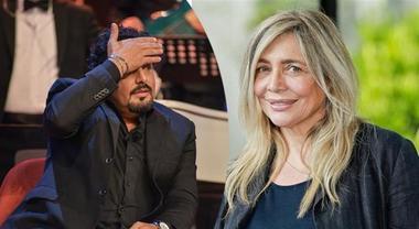 Domenica in, Mara Venier ed Enrico Brignano in lacrime in diretta