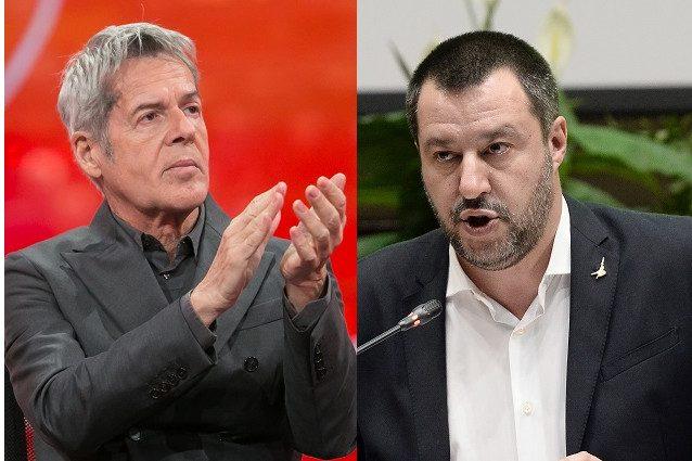 """Salvini ancora contro Baglioni: """"Non usi il palco per fare comizi e io a Sanremo non andrò…�"""