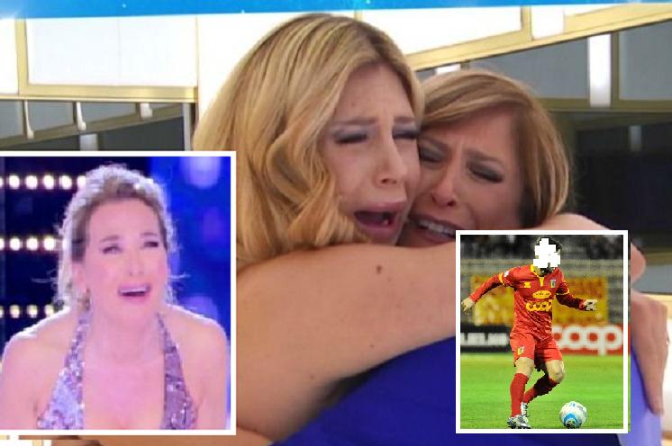 Paola Caruso trova la mamma dopo 34 anni a Non è la D'Urso, ora salta fuori il padre calciatore