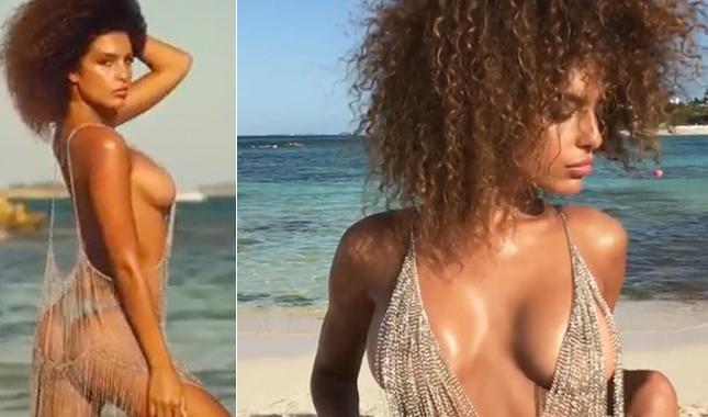 Jessica Aidi, la fidanzata sexy di Verratti