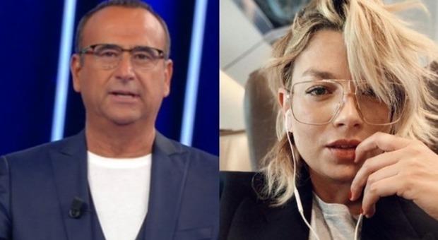 Emma Marrone, il messaggio commosso di Carlo Conti in diretta a Tale e Quale