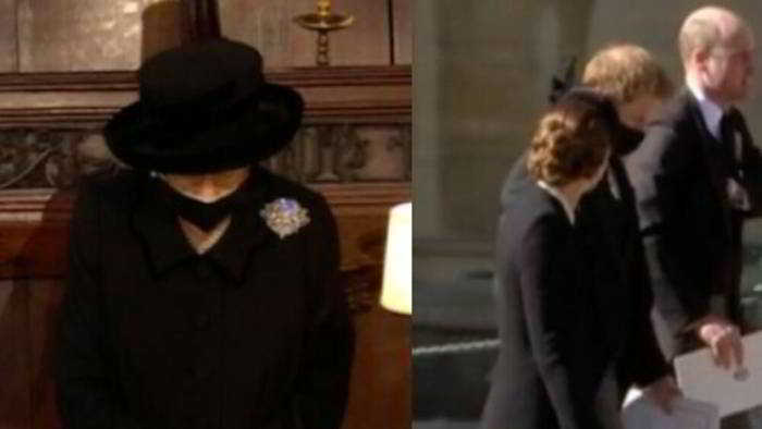 Le lacrime della regina Elisabetta e William e Harry che tornano a parlarsi