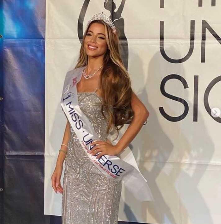 Miss Universo 2021 Viviana Vizzini a causa del Covid rischia la finale
