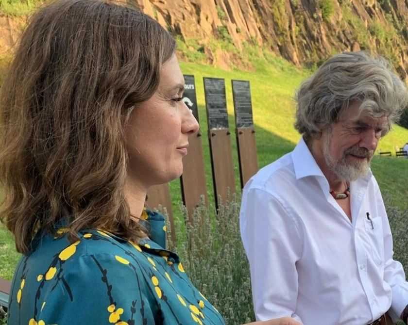 Reinhold Messner è pronto a sposare Diane Schumacher