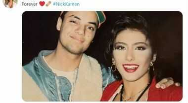 Sabrina Salerno sui social ricorda Nick Kamen