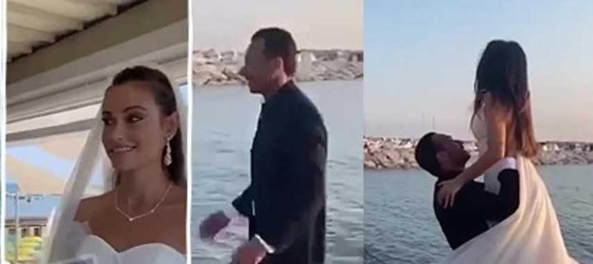 Costantino Vitagliano si sposa ma è solo per shooting fotografico