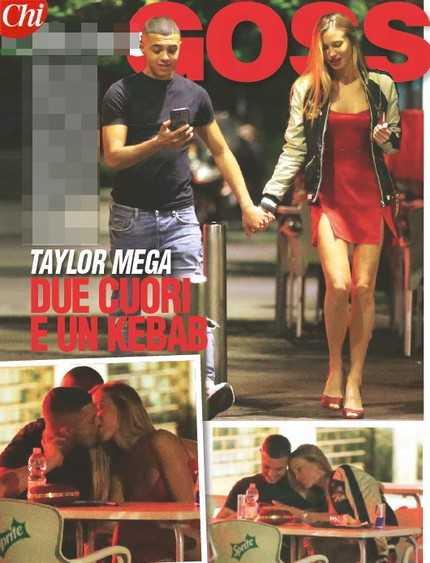Taylor Mega un estate bollente insieme al rapper Sacky