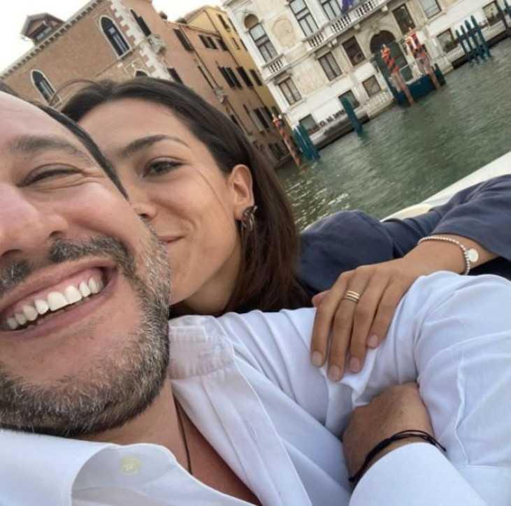 Matteo Salvini e Francesca Verdini fuga romantica a Venezia