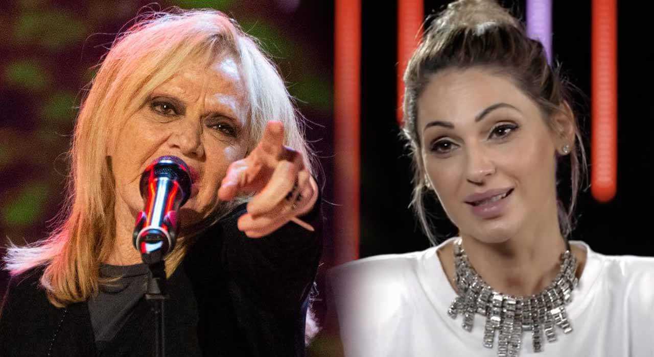 Rita Pavone e la frase choc su Anna Tatangelo lei va fuori di sé
