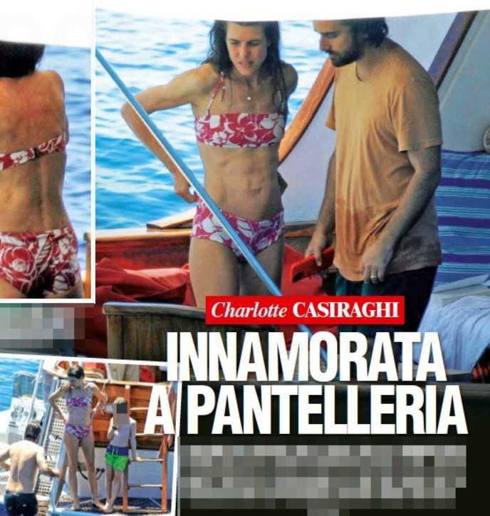 Charlotte Casiraghi in vacanza in Sicilia e festeggia il compleanno in bikini