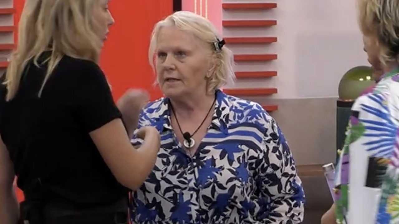 Katia Ricciarelli è furiosa con gli altri conquilini è molto grave quello che avete fatto