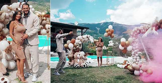 Alessia Macari sui social svela che una aspetta una bimba dal marito Oliver Kragl
