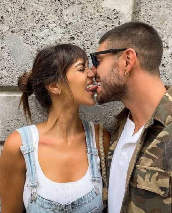 Cecilia Rodriguez e Ignazio Moser che baci appassionati
