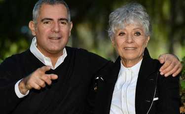 Erminia Ferrari e Luca Manfredi in tv ricordano il grande Nino Manfredi