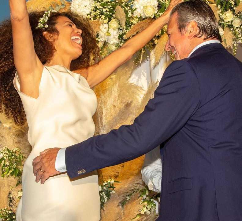 Afef si è sposata per la quarta volta con Alessandro Del Bono
