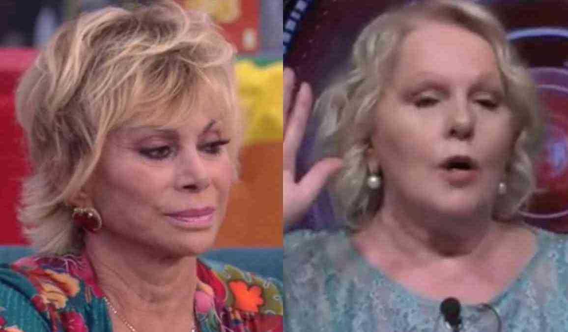 GF Vip lite furiosa tra Carmen Russo e Katia Ricciarelli per colpa delle nomination