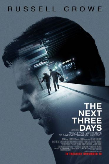 Ciné : The next three days