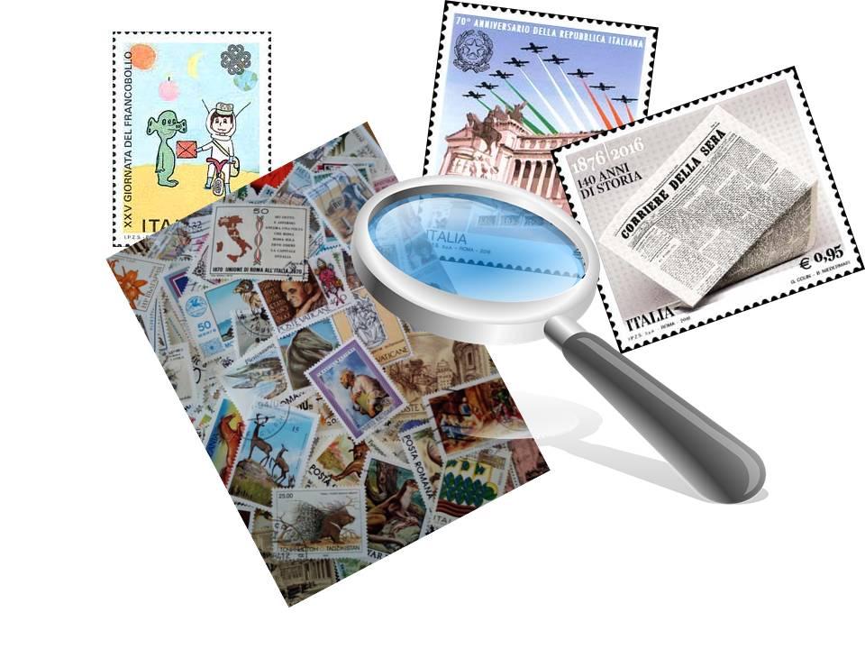 Scambio e Vendita lotti francobolli