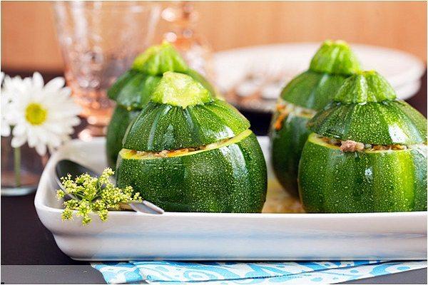 Zucchine tonde ripiene, ricetta sfiziosa!