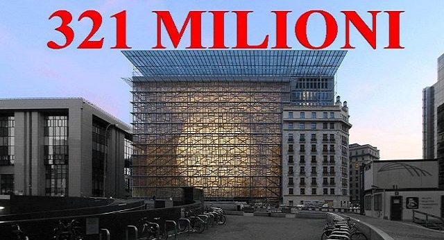 La nuova Casta - La Commissione Ue impone ''l'austerity'' ...ma non a tutti: a loro, per esempio NO, ed ecco che si regalano una nuova (del tutto inutile) sede da 321 milioni...!